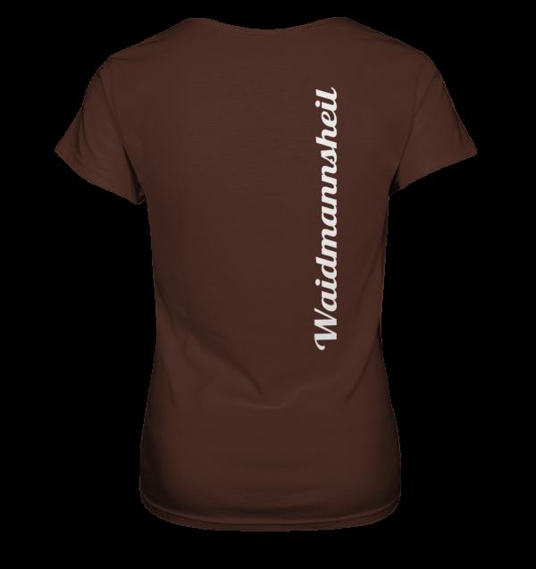 T-Shirt-Damen-Jägerin-hinten