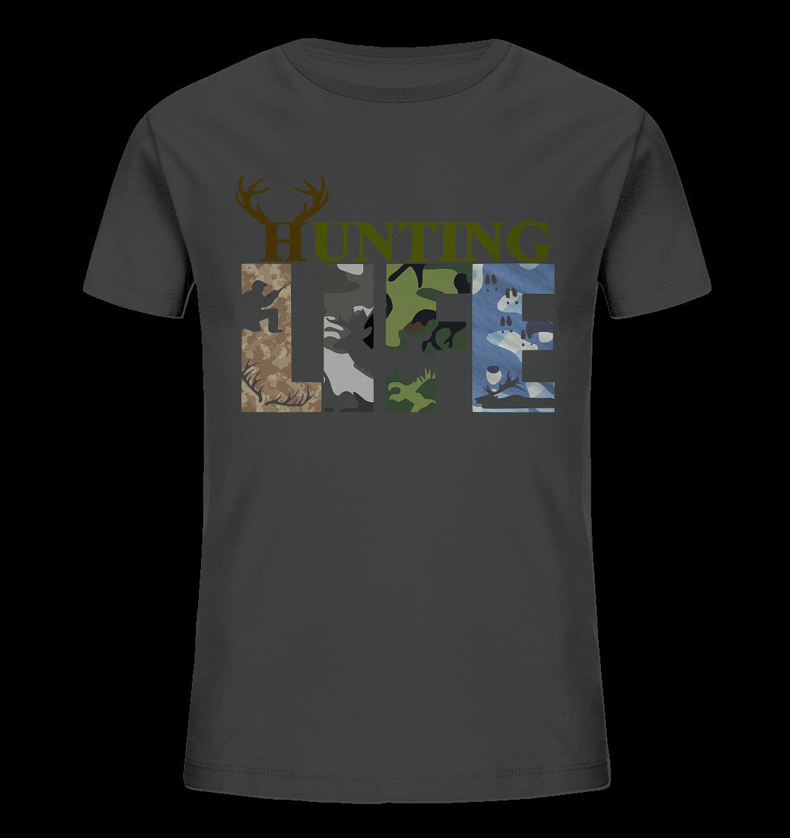 Kinder T-Shirt Hunting Life Jäger camo