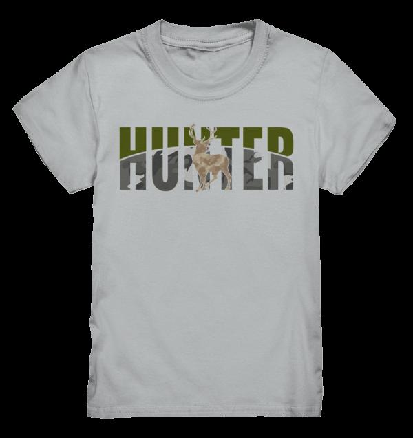 T-Shirt Kinder Jäger Hunter Hirsch camo