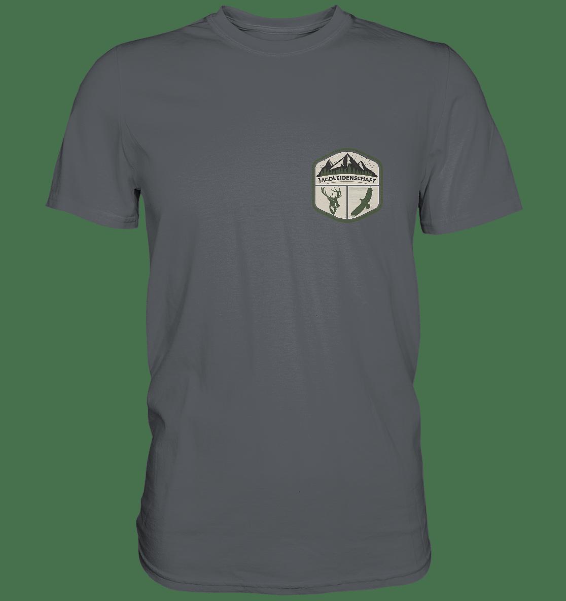T-Shirt Jagdleidenschaft Jäger - Premium Shirt