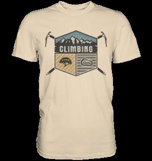 T-Shirt Climbing Klettern - Premium Shirt