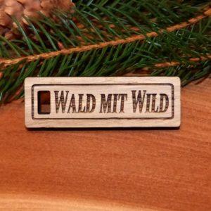 Schlüsselanhänger Wald mit Wild