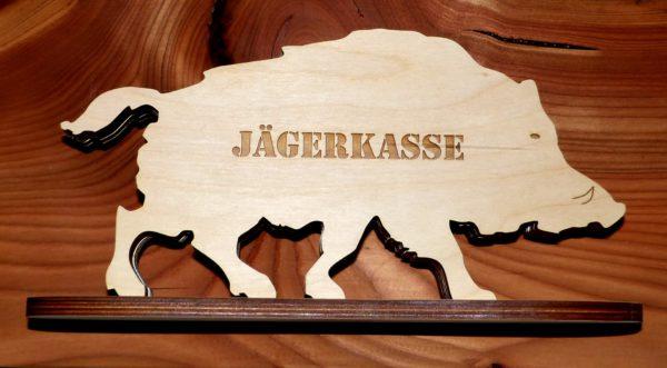 Sparbüchse Wildschwein Jägerkasse Geschenk Jäger mister-clever